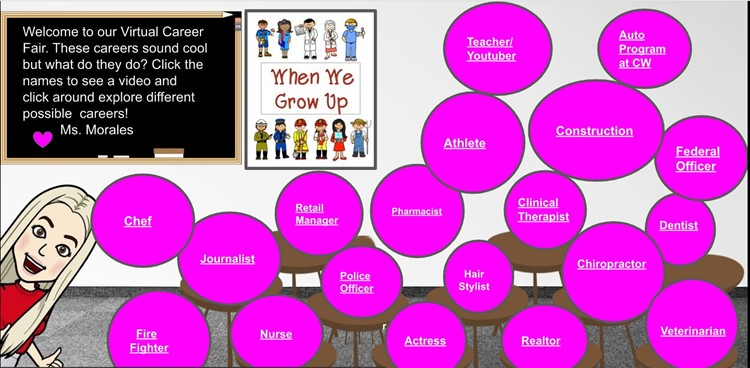Career Fair in Google Classroom