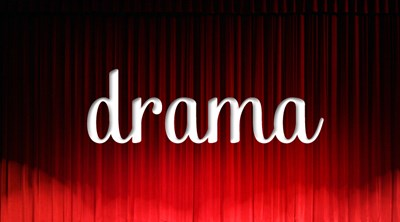 picture of Drama sign