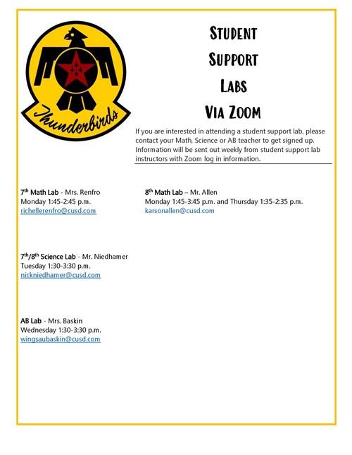 Lab Info