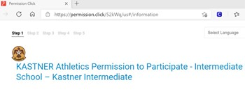 Front page of Permission Click
