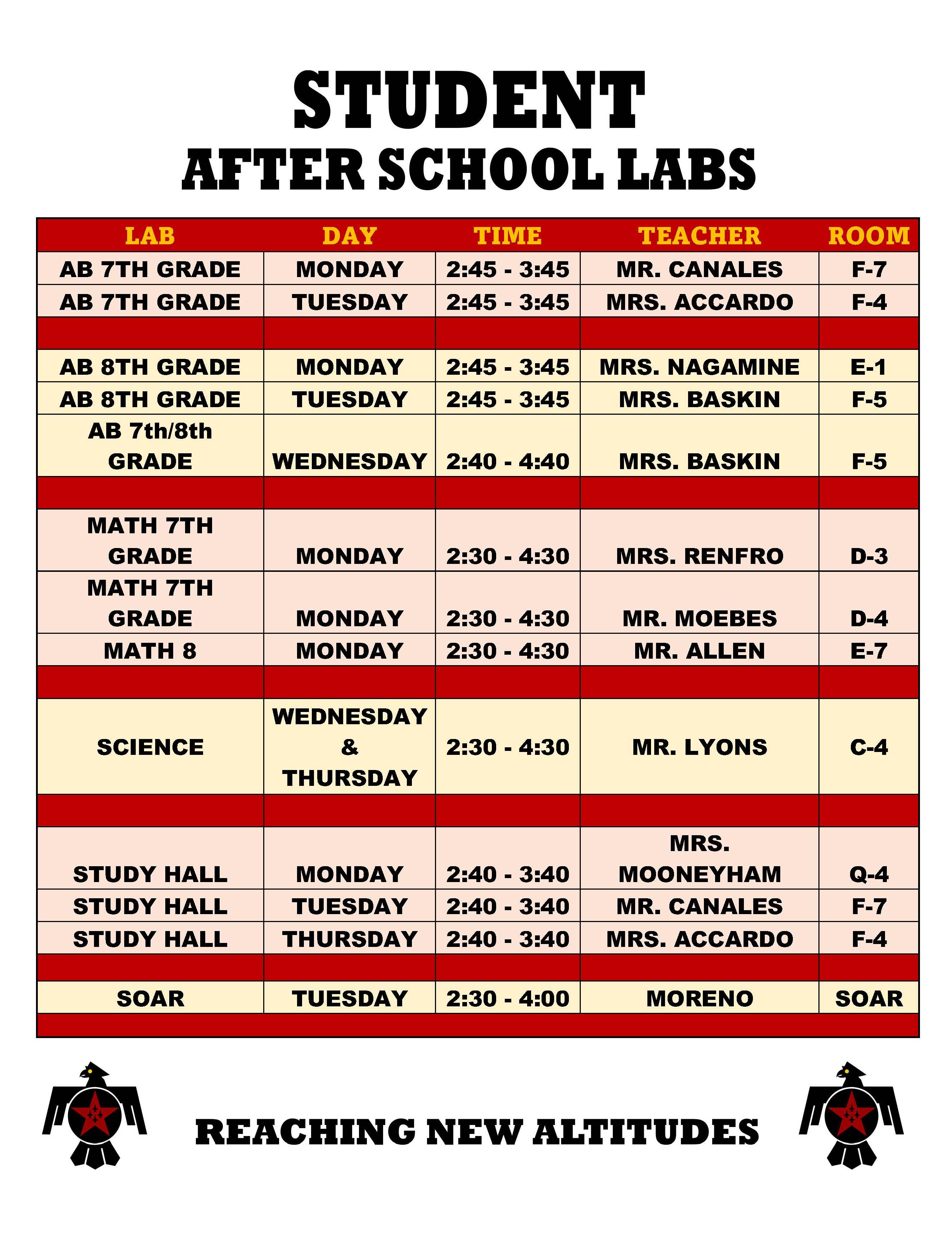 Afterschoollabschedule921